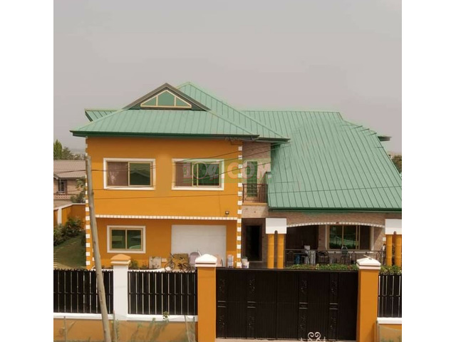 NEWLY BUILD 6BEDROOM HOUSE FOR SALE @ADENTA - 4
