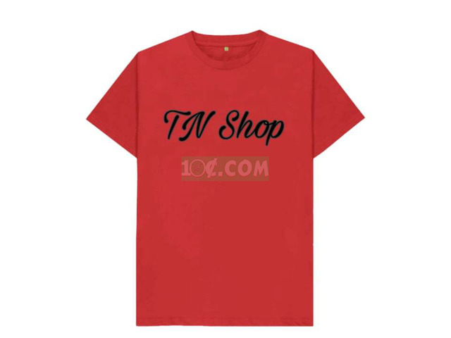 Red Branded T-shirt - 1