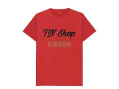 Red Branded T-shirt