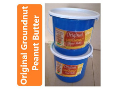 Original (Organic) Groundnut Paste in Mini Paint Bucket