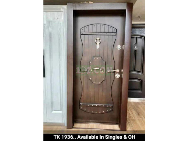 AFFORDABLE TURKISH SECURITY DOORS FOR SALE - 2