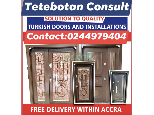 AFFORDABLE TURKISH SECURITY DOORS FOR SALE - 7