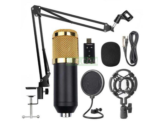 STUDIO BROADCAST MICROPHONE SET - 1