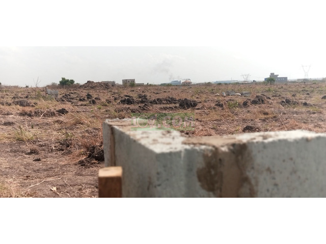 NEATLY DEMARCATED PLOT AT COMM.25 - 1