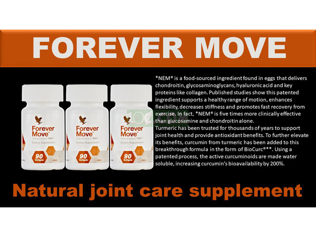 FOREVER MOVE BENEFITS - 1