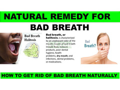 NATURAL REMEDY FOR BAD BREATH HALITOSIS