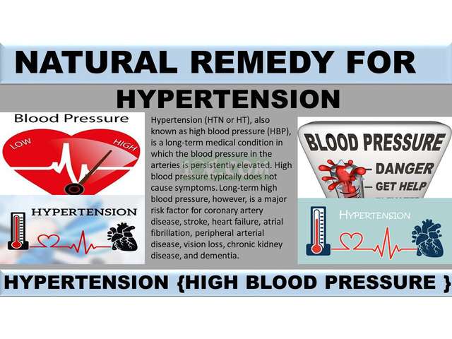 NATURAL REMEDY FOR HYPERTENSION - 1