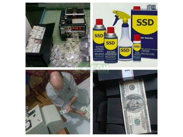 Activation Powder for cleaning Defaced Banknotes - 2