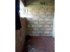 2 bedroom uncompleted house